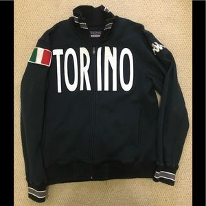 Kappa Torino Track Jacket Size Large Men